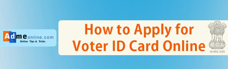 How to Apply for Voter ID Card Online Kerala