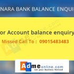 canara-bank-missed-call-banking-number