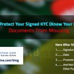 How to prevent misuse of your KYC Identity proof, Tips to Prevent Identity Theft