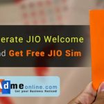 Steps to generate JIO Welcome Offer Code and get Free JIO Sim