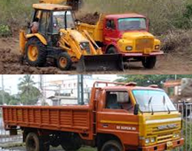 Tipper Lorry, JcB, PickVan Services
