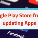 How to stop Google Play Store from automatically updating Apps