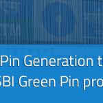 SBI ATM (Debit Card) Pin Generation through SMS, SBI Green Pin process