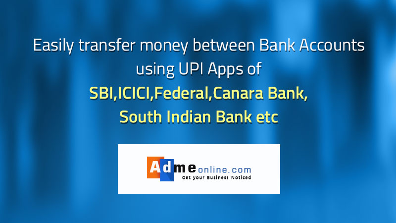 Easily transfer Money Between Bank Accounts using SBI,ICICI,HDFC ...