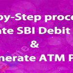 How to activate SBI Debit card Online (2019) without visiting the Branch