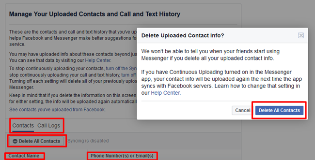 Manage-Your-Uploaded-Contacts-and-Call-and-Text-History-in-Facebook