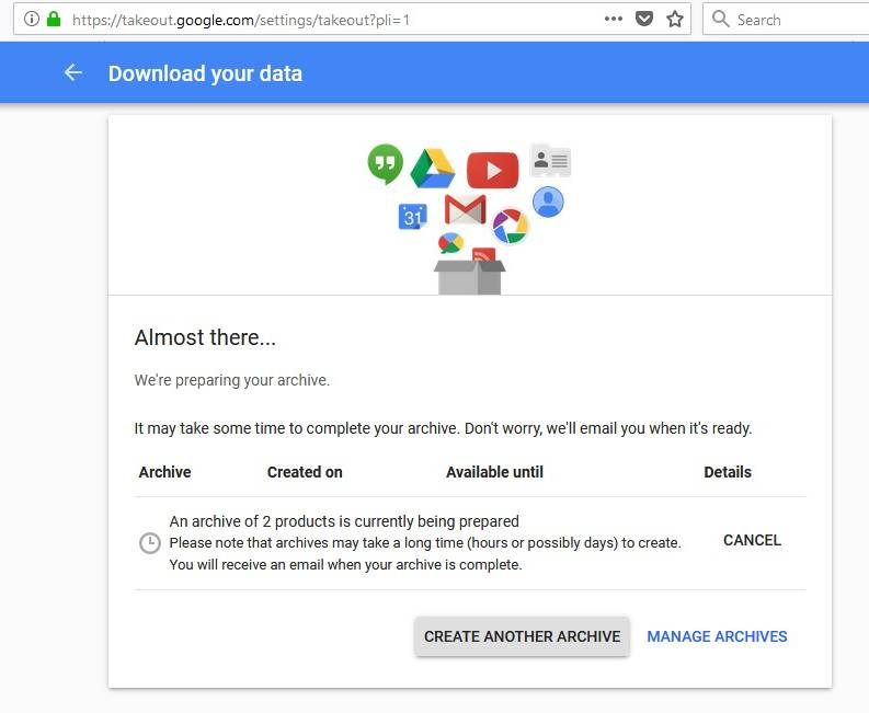 download gmail backup