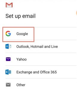 Set up multiple Gmail Account in Gmail App