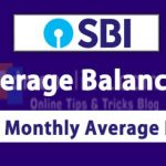 How to check Monthly Average Balance in SBI Net Banking and Avoid Penalty
