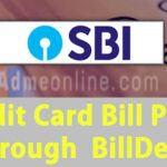 SBI Credit Card Bill Payment BillDesk | Credit Card Payment through BillDesk