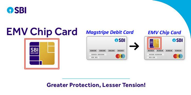 SBI-EMV-Chip based ATM cum debit card-