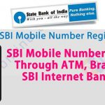 How to Register Mobile number with SBI account