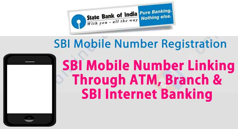 Bank Accounts, Mobile Number