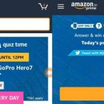 Amazon Quiz answers Today | Amazon Daily Quiz Answers