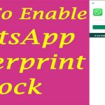 WhatsApp How to Enable Finger Print Lock | WhatsApp Fingerprint Lock for Android Devices