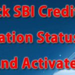 SBI Credit card application status check Online | SBI Credit Card activation