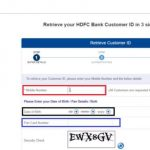 retrieve-customer-id-hdfc-bank