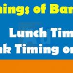 Bank of India Timings | Bank of India Lunch Timings | Bank timing on Saturday