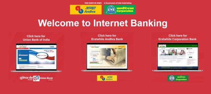 Andhra bank net banking login