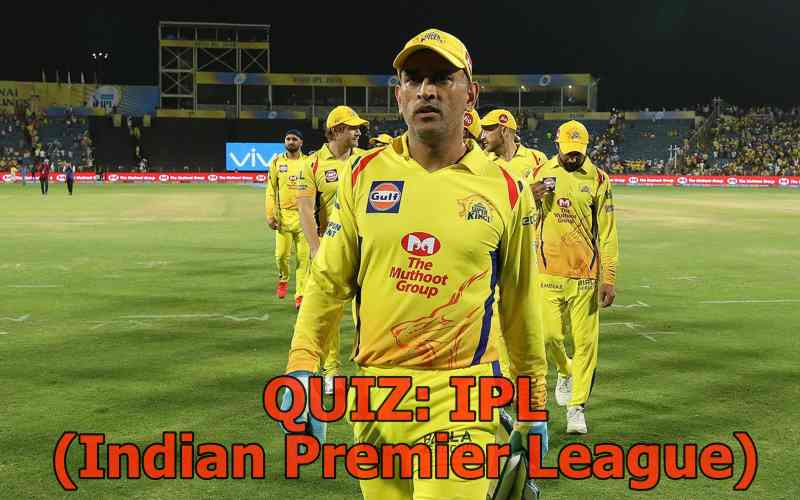 ipl cricket quiz with answers
