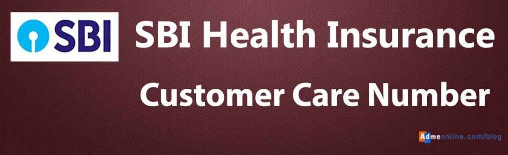 SBI Health Insurance Contact Number